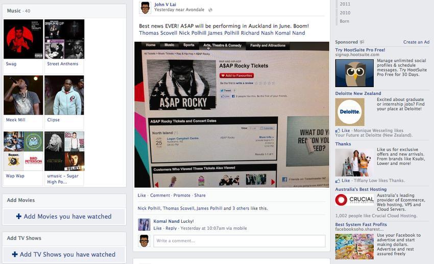 imagenes nuevo facebook 2013 6 Más cambios en Facebook, imagenes del nuevo Timeline