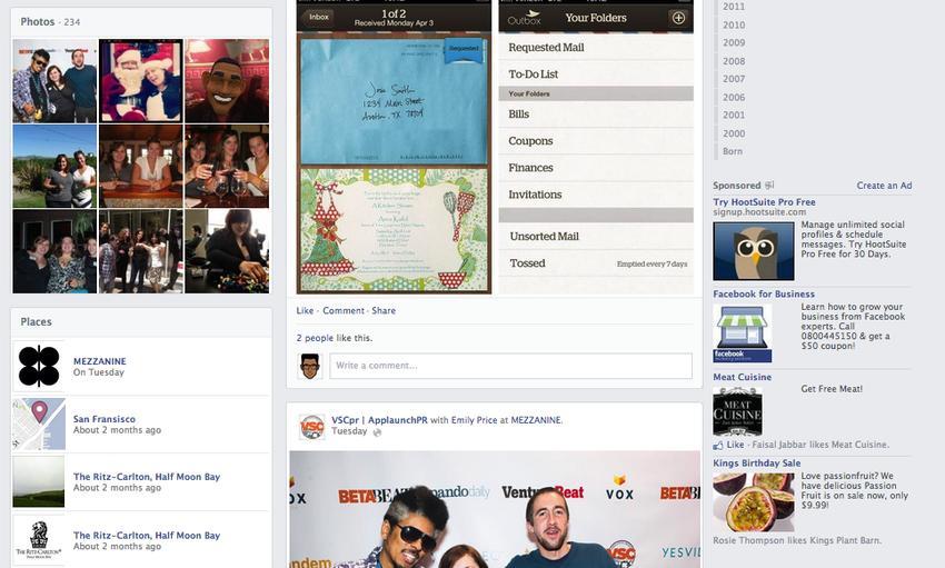 imagenes nuevo facebook 2013 7 Más cambios en Facebook, imagenes del nuevo Timeline