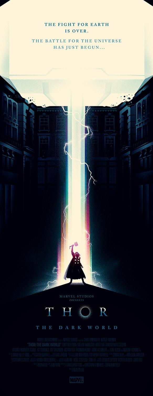 Poster de Thor por Olly Moss