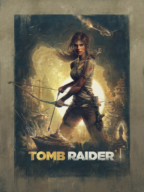 Tomb Raider por Sam Spratt