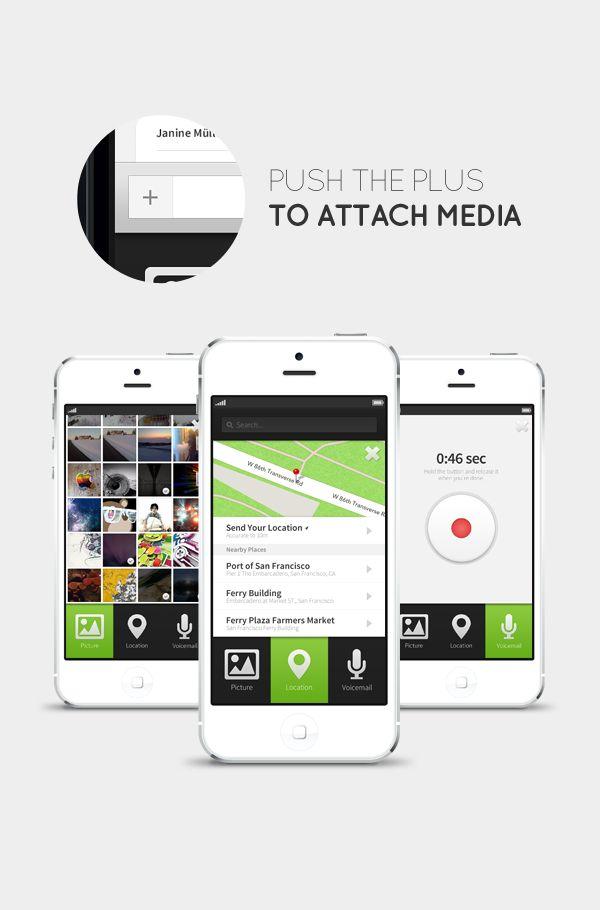 concepto de diseño ui whatsapp 1 1 Concepto de diseño de interface para WhatsApp