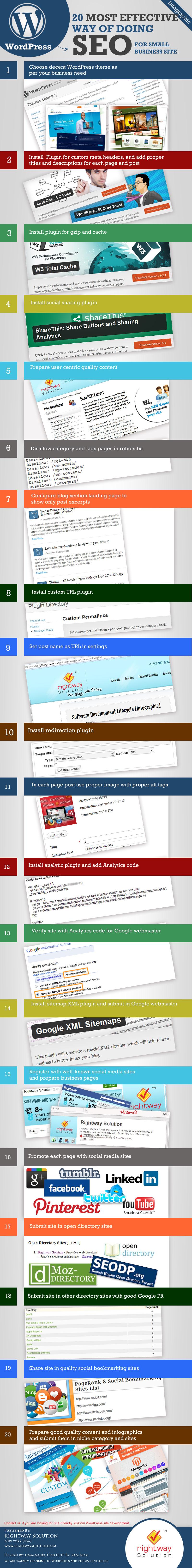 infografia trucos mas efectivos de seo Infografía: Los trucos mas efectivos de SEO para Wordpress