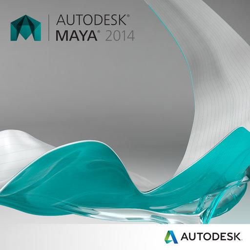 maya 2014 badge 2700px El nuevo logo de Autodesk