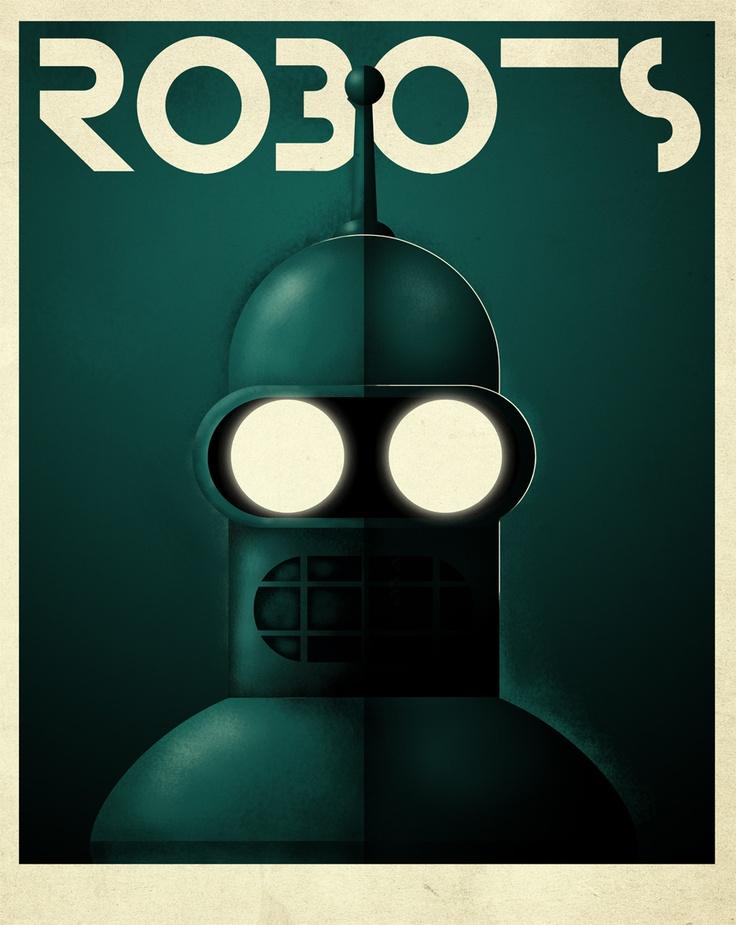robots blender