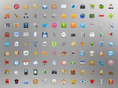 Iconos vectoriales por Stafie Anatolie