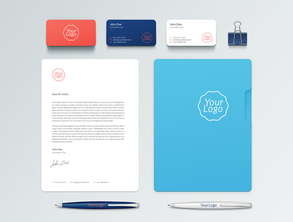Branding Identity PSD