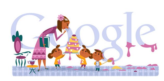 Google Doodle 10 de Mayo 2013