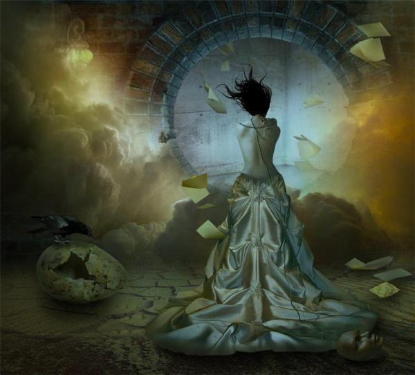 foto manipulada surreal