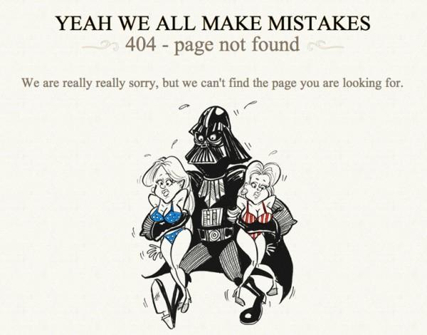 curiosos diseños paginas de error 404 10