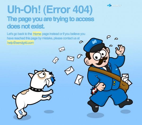 curiosos diseños paginas de error 404 13