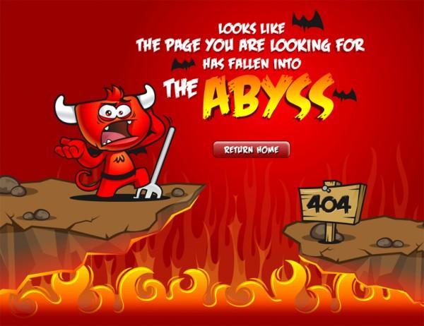 curiosos diseños paginas de error 404 15