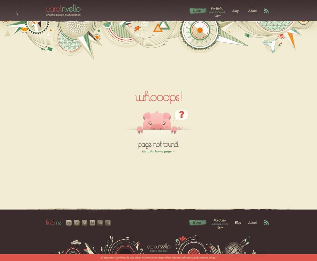 curiosos diseños paginas de error 404 16