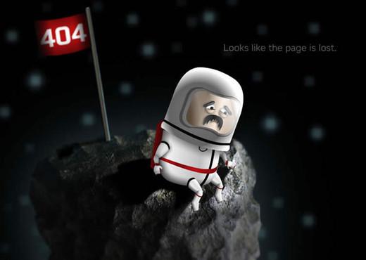 curiosos diseños paginas de error 404 20