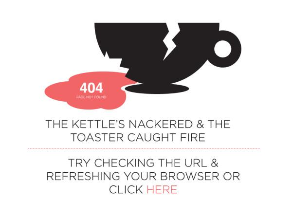 curiosos diseños paginas de error 404 3