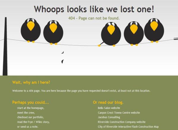 curiosos diseños paginas de error 404 4