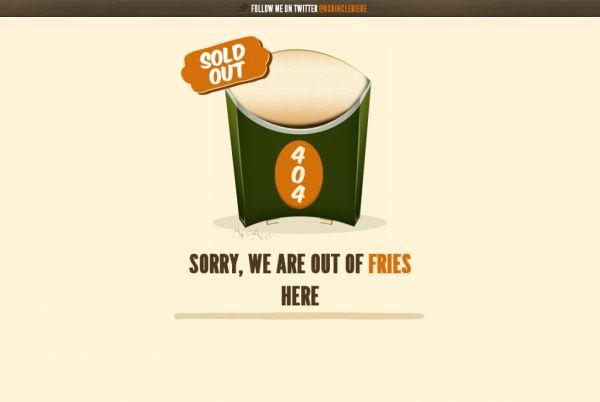 curiosos diseños paginas de error 404 6