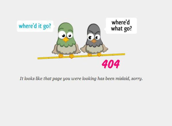 curiosos diseños paginas de error 404 8