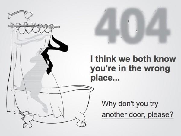 curiosos diseños paginas de error 404 9
