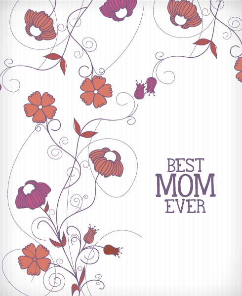 35 Bellos Diseños Del Día De Las Madres Tarjetas D Frogx Three