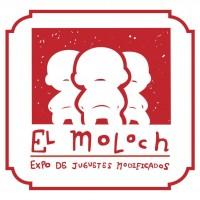 Logo de exposición de juguetes el Moloch