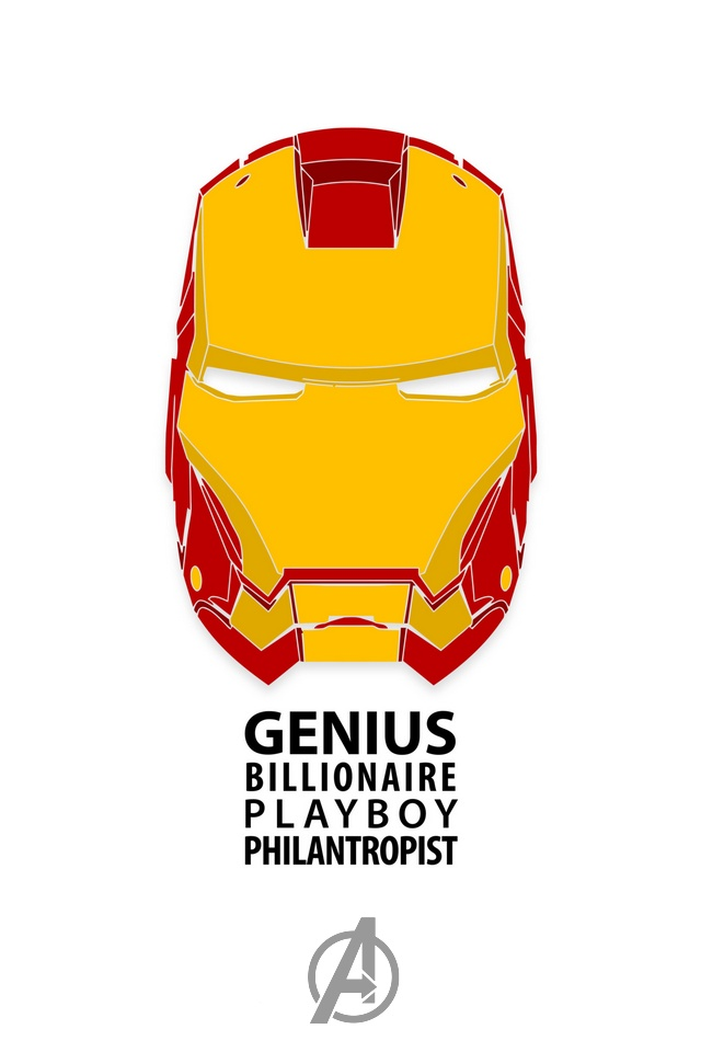 Wallpaper Iron Man para iPhone Retina Display