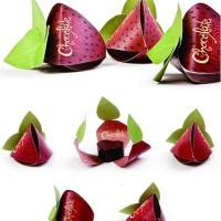 packaging chocolate fresa