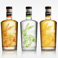 packaging tequila suerte