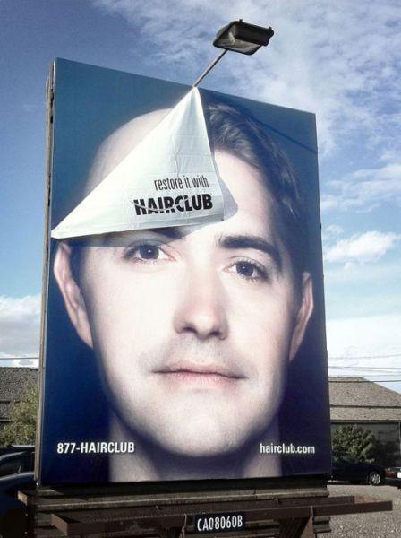 publicidad creativas hairclub