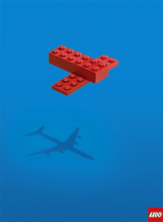 publicidad creativas lego imaginacion
