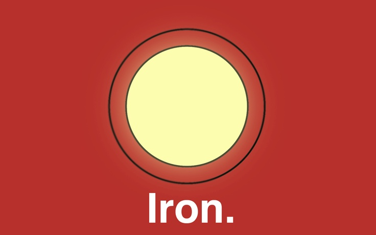 Wallpaper minimalista Iron Man