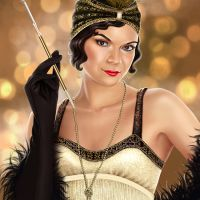 1920_s_flapper_by_aida_art-d5uhs35