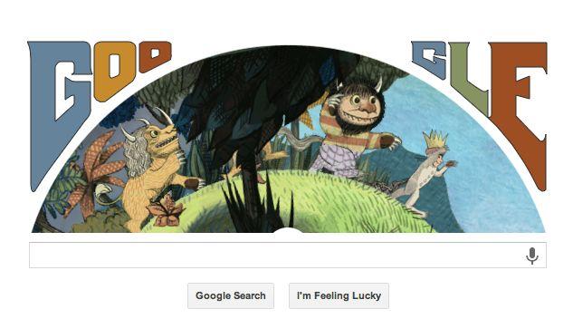 Google Logo Maurice Sendak
