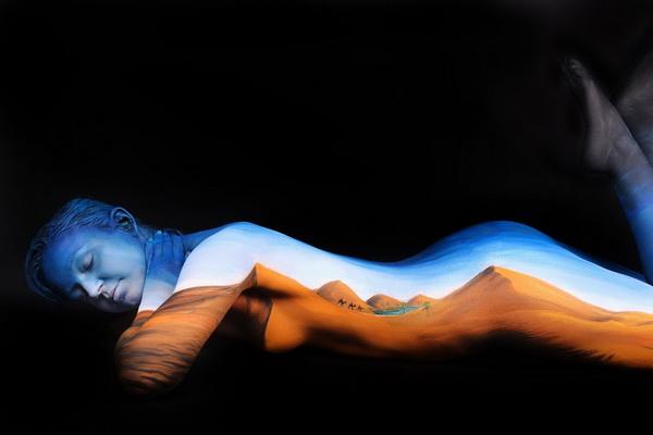 body painting por gasine marwedel 2