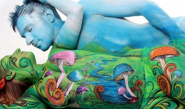 body painting por gasine marwedel 3