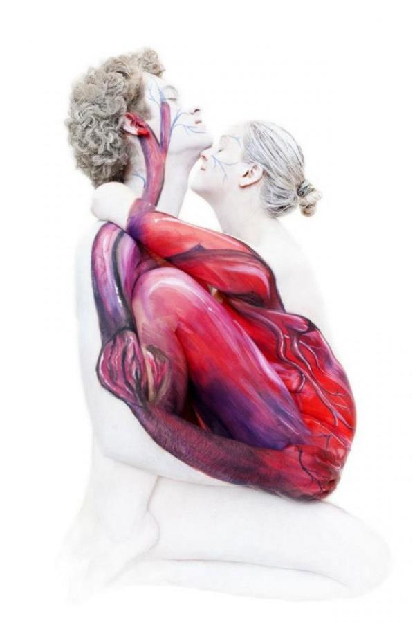 body painting por gasine marwedel 5