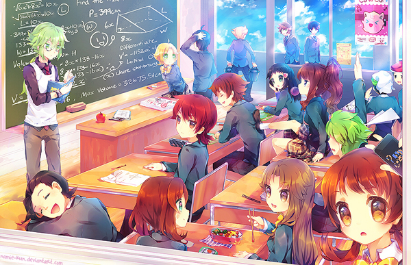 ilustraciones anime por namie kun clases