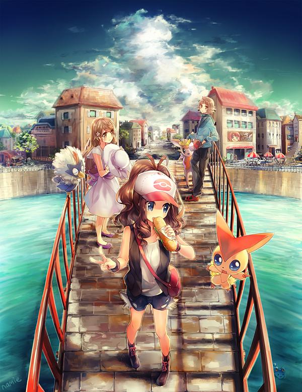 Lindas Ilustraciones Estilo Anime Por Namie Kun Frogx Three
