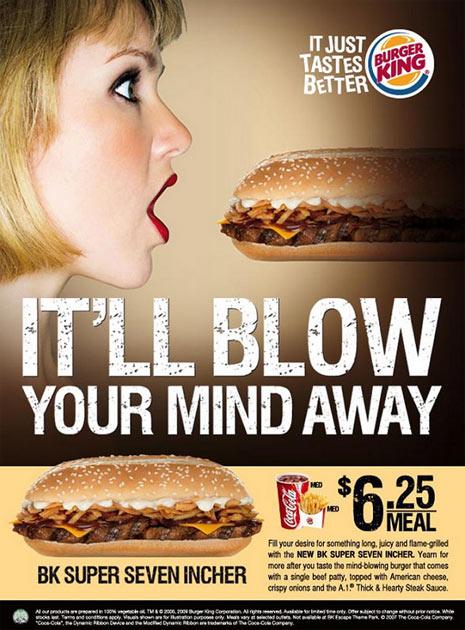 publicidad mala burger king
