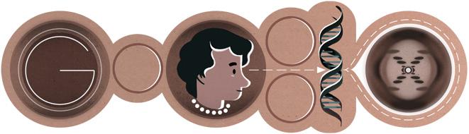 Google doodle rosalind franklin