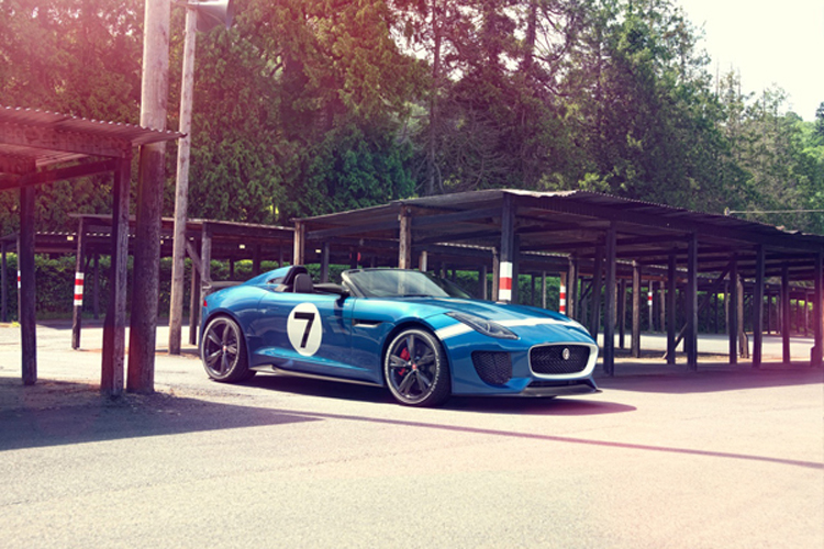 Fotografías Jaguar F type Project 7 1