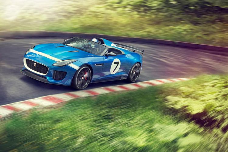 Fotografías Jaguar en la pista