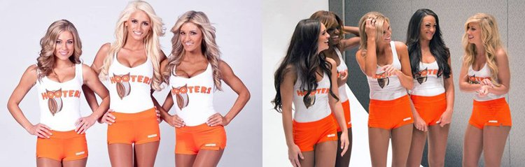 chicas hooters 2