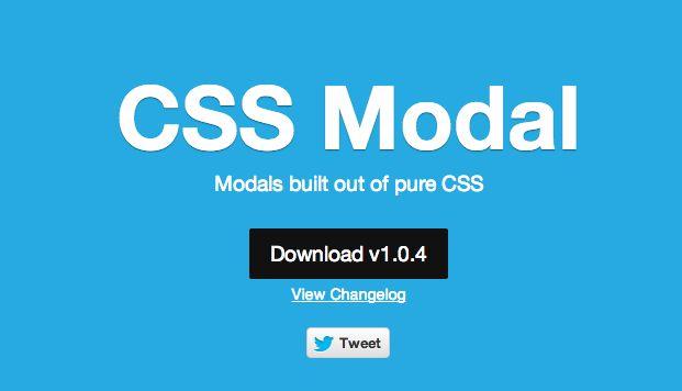 ventanas modales con CSS