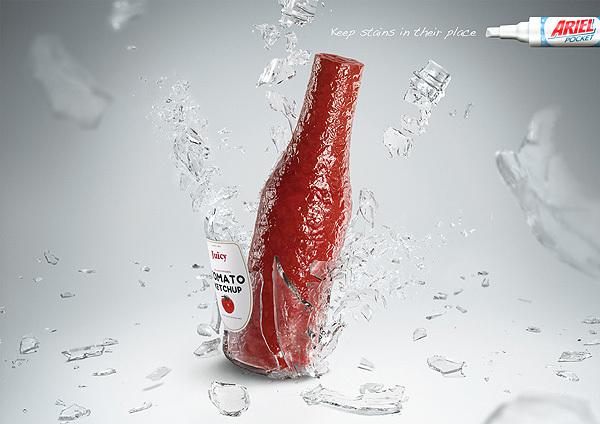 diseños creativos publicidad ariel