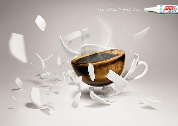 diseños publicidad ariel
