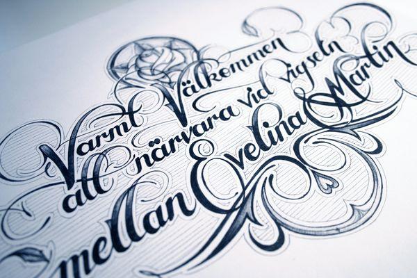 diseños a mano caligrafia 10