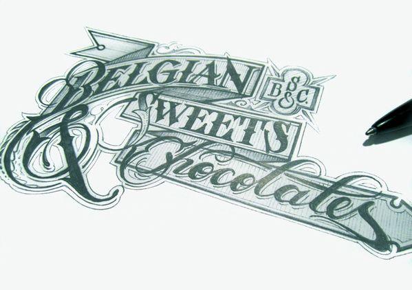 diseños tipografías caligrafia 6