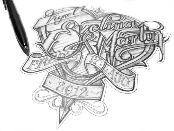 diseños tipos caligrafia 7