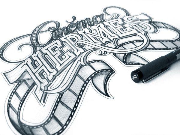 diseños letras caligrafia 8
