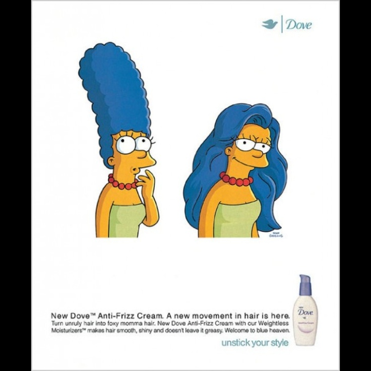 dove simpsons